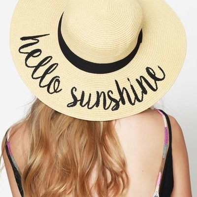 urbanista Hello Sunshine Sun Hat - Natural