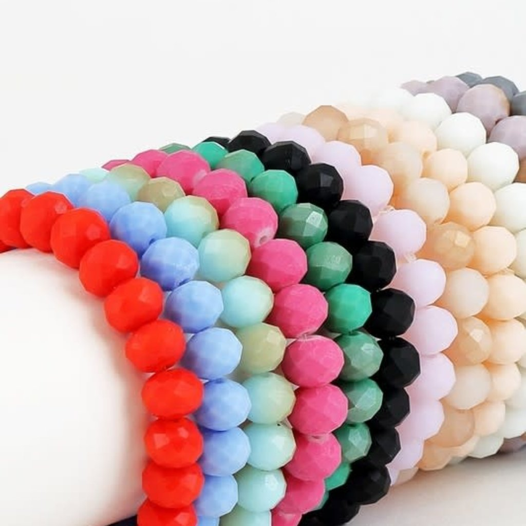 urbanista Frosted Matte Beaded Bracelets (10 Colors!)