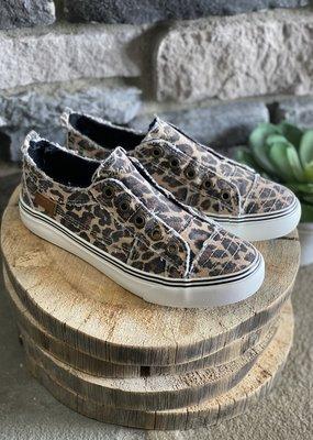 Blowfish Blowfish Natural Leopard Canvas Sneaker