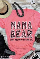 TTT Hot Pink Mama Bear Tee (XS-3XL)