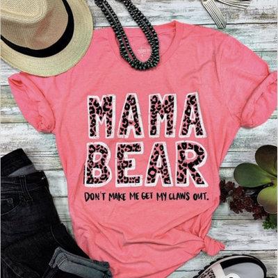 TTT Hot Pink Mama Bear Tee (XS-3XL)