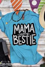TTT Teal Mama is My Bestie Youth Tee (XS-L)