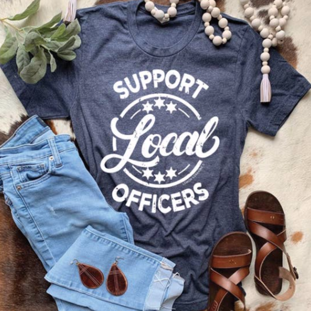 Lemon Lorraine Support Local Police Officers Tee (2XL Only)