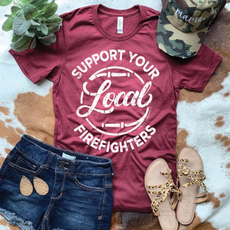 Lemon Lorraine Support Local Firefighters Tee (Medium Only)
