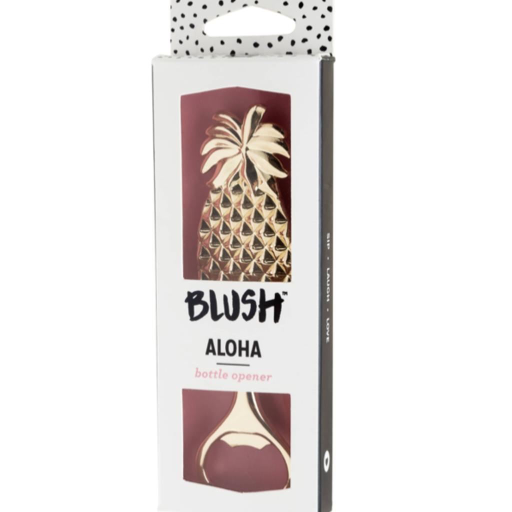Blush Aloha Pineapple Bottle Opener