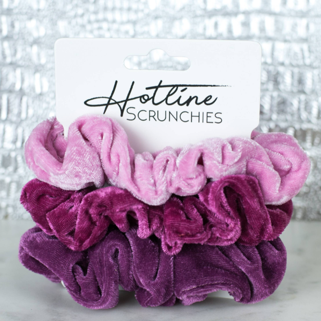Hotline Hair Ties Scrunchy Sets (3 Color Combos!)