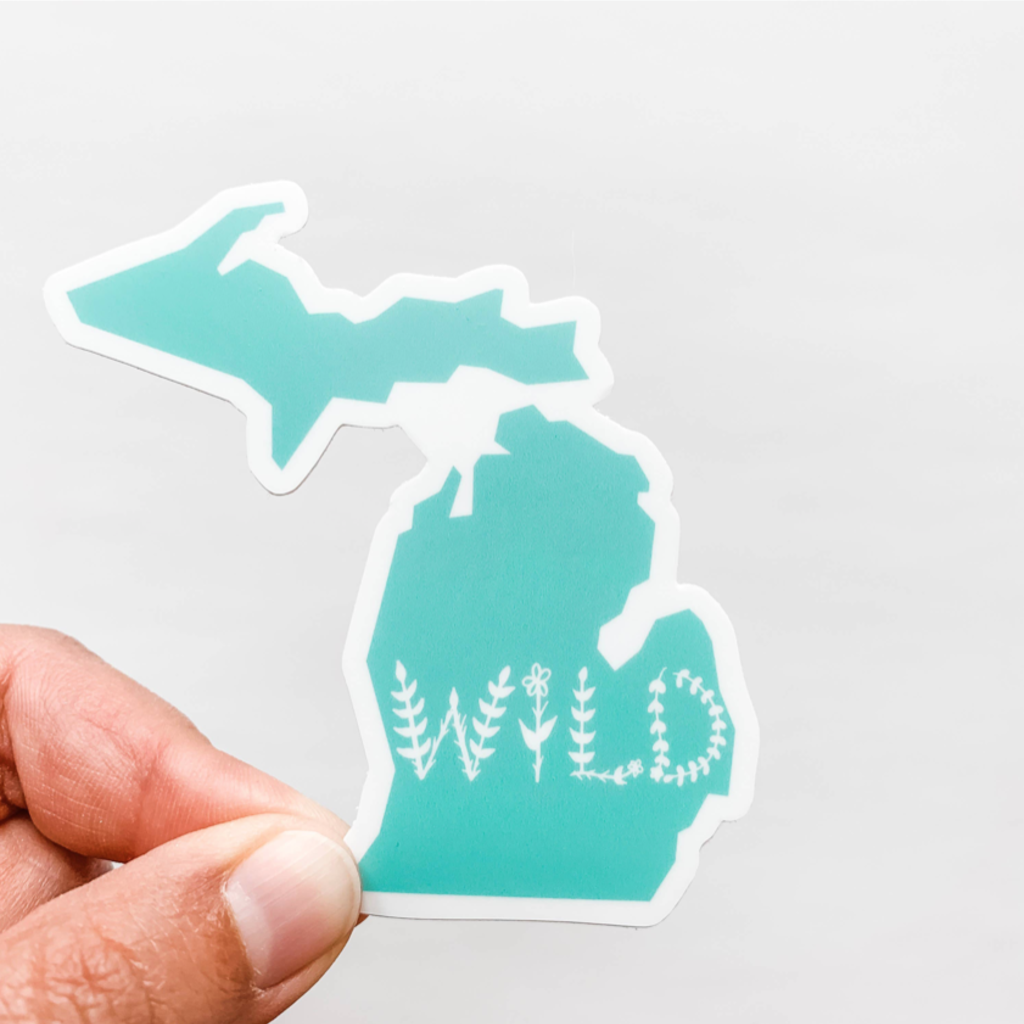 Wildflower Paper Co Michigan State Stickers (Assorted)