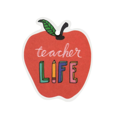 About Face Designs Teacher Life Air Freshener (Set of 2)