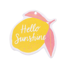 About Face Designs Hello Sunshine Air Freshener (Set of 2)