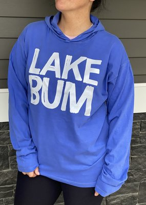 LTB Blue Lake Bum Summer Hoodie (S-3XL)