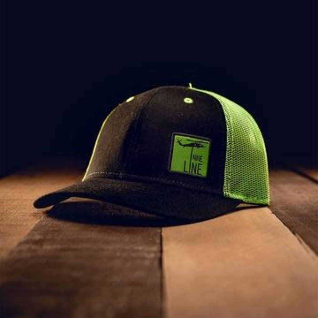NINE LINE Nine Line Youth Lime Green Snapback Hat