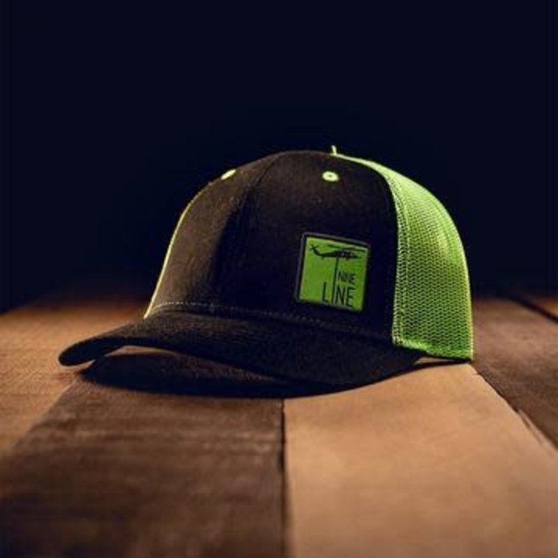 NINE LINE Nine Line Youth Lime Green Snapback Hat