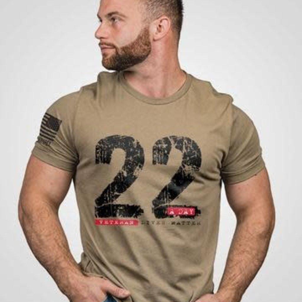 NINE LINE Nine Line - Coyote Men's 22 A Day Tee