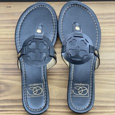 Miami Shoe Black Vacation Sandal (7 only)