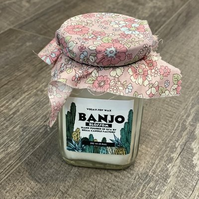 Bella Candle Factory Banjo Blossom Vegan Soy Candle
