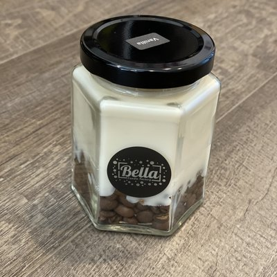 Bella Candle Factory Vanilla Coffee Soy Candle