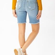 KanCan KanCan Light Mid-Bermuda Shorts (Small)