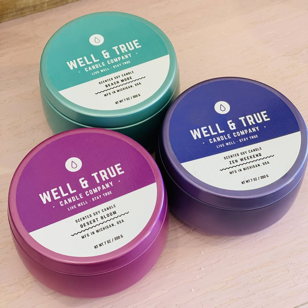 Well & True Candles (3 Scents)