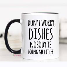 Mugsby Don't Worry Dishes Mug