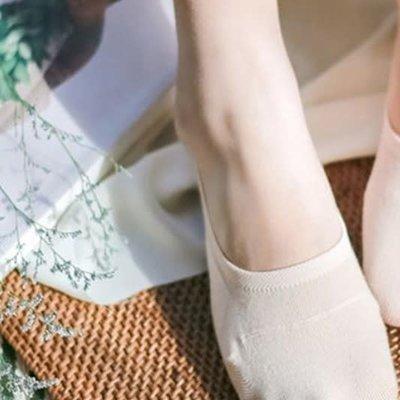 Fashion City Cotton Grip No Show Socks