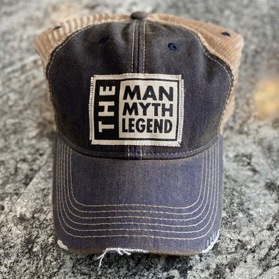 Fashion City The Man, Myth, Legend Vintage Hat
