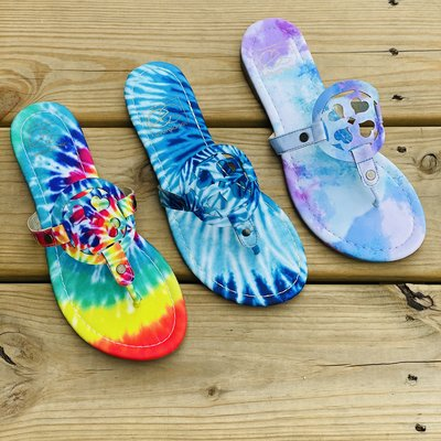 Miami Shoe Tie Dye Sandals (6-10)