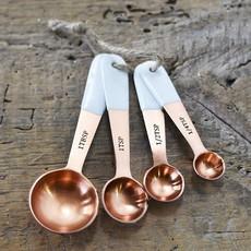 Pd Home & Garden Brass White Measuring Spoons