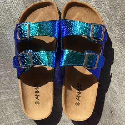 Blue Mermaid Summer Sandals