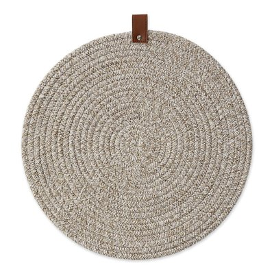 Design Imports Earth Tan Round Placement