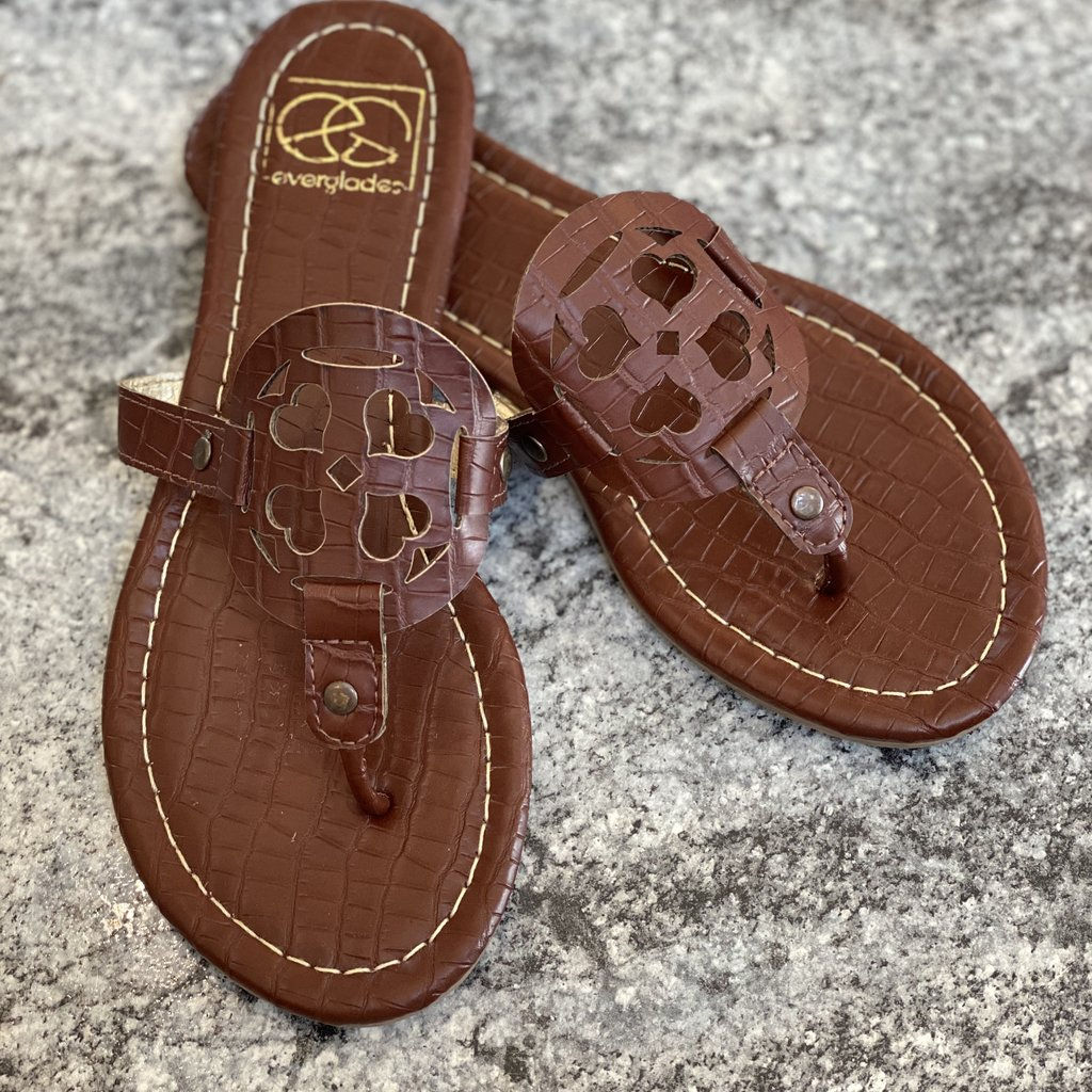 Everglades Brown Vacation Sandal (6 Only)