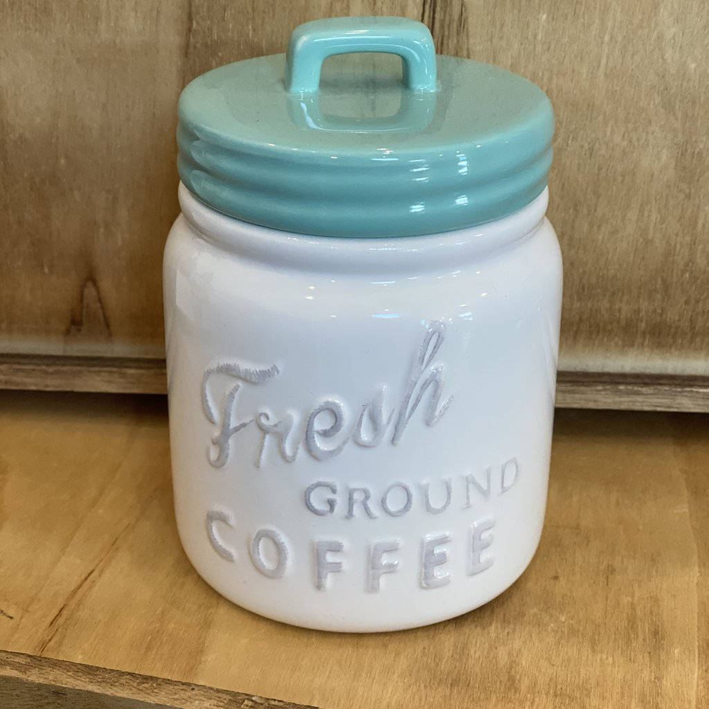 Design Imports Small Mint Coffee Canister