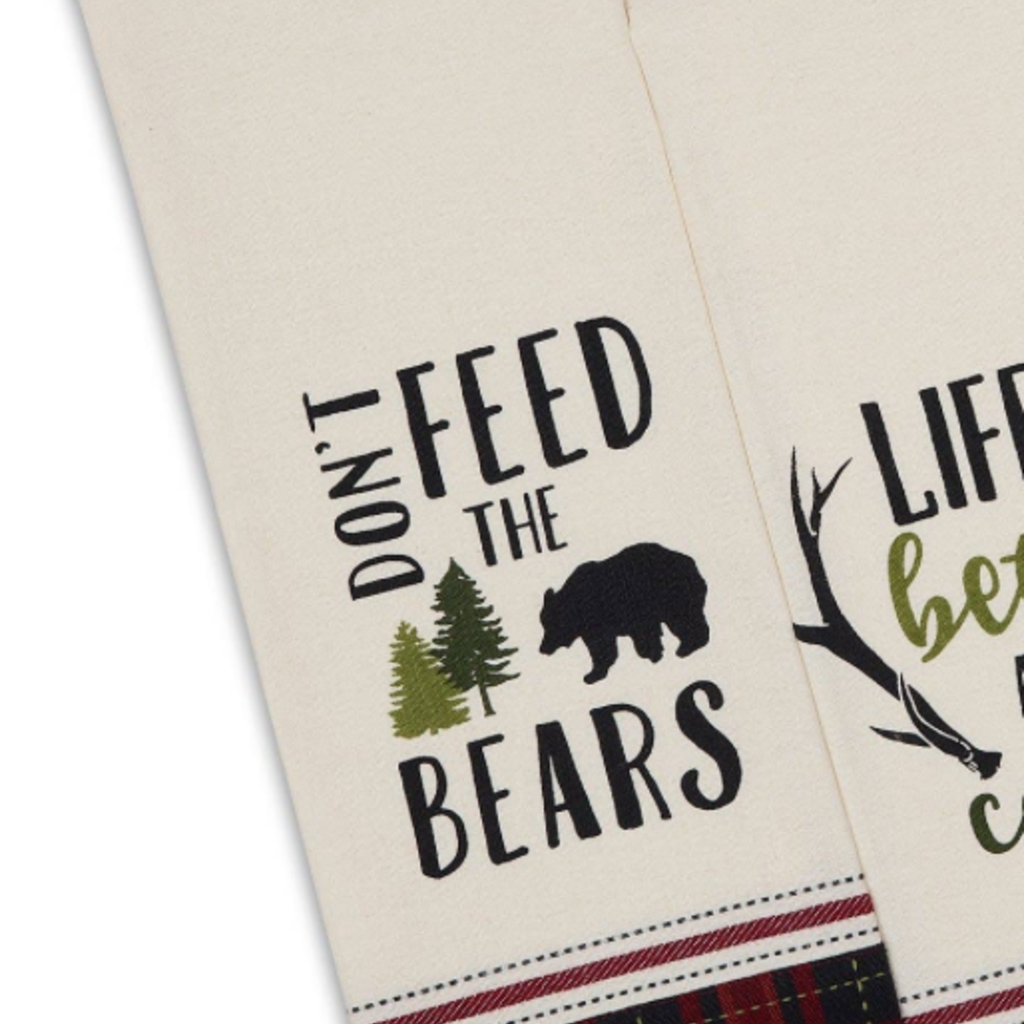 Design Imports Don't Feed the Bears Towel