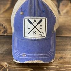 Vintage Soul Navy Lake Life Vintage Hat