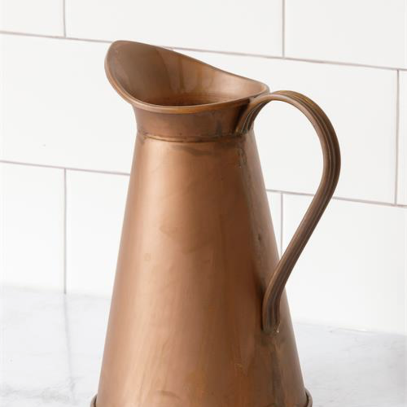 Audrey's Weather Copper Pitcher
