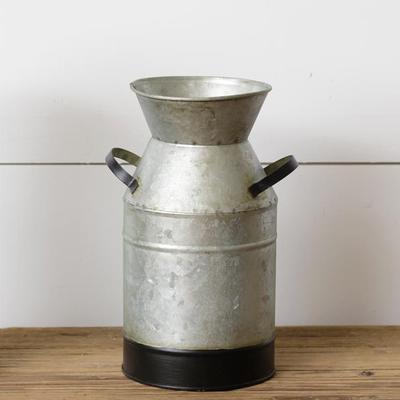 Audrey's Galvanized Tin Milk Jug