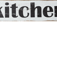 "Audrey's Kitchen Sign - 12"" x 47"""