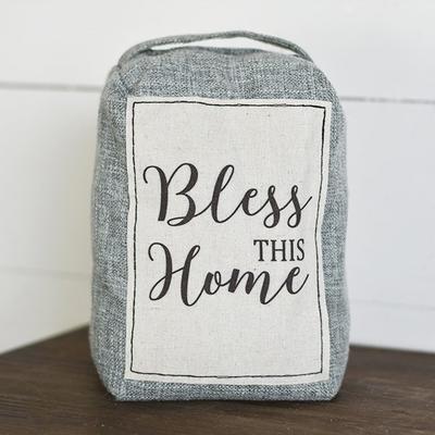 Pd Home & Garden Bless This Home Door Stopper