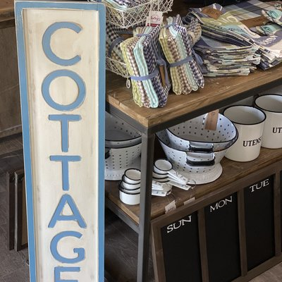 """Pd Home & Garden Cottage Sign - 40"""""""