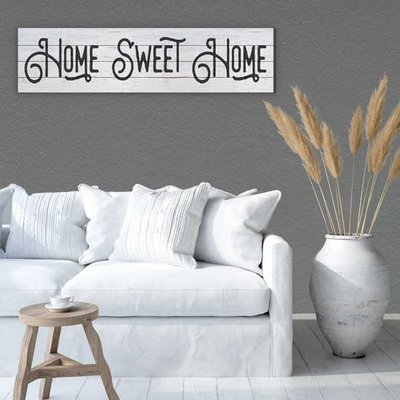 Kindred Hearts Home Sweet Home Sign - 40''x10''