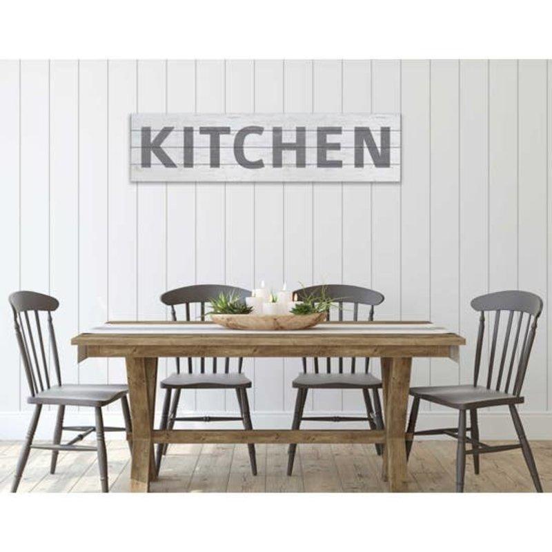 "Kindred Hearts Kitchen Slatted Sign - 40""x10"""