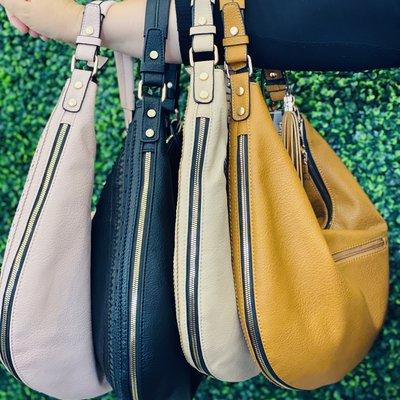 Applejuice Expandable Hobo Bag (4 Colors!)