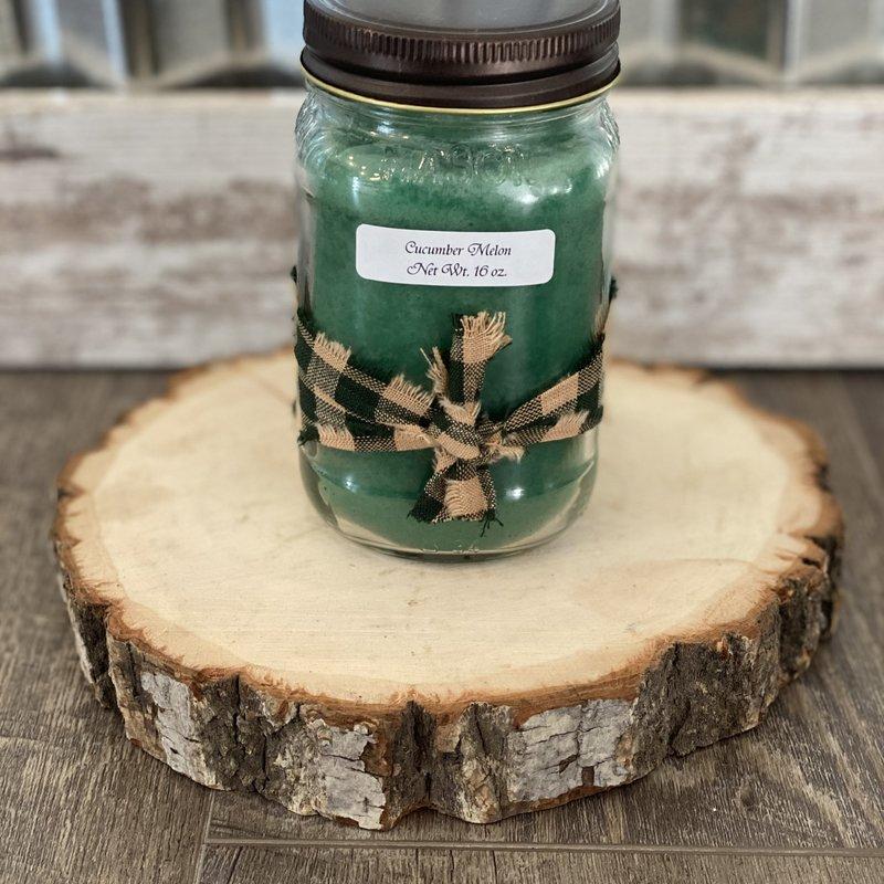 Audrey's Farmhouse Candle - Cucumber Melon
