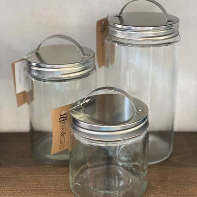 Pd Home & Garden Storage Jars (3 Sizes)