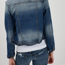 KanCan KanCan Stretchy Denim Crop Jacket (XS-XL)
