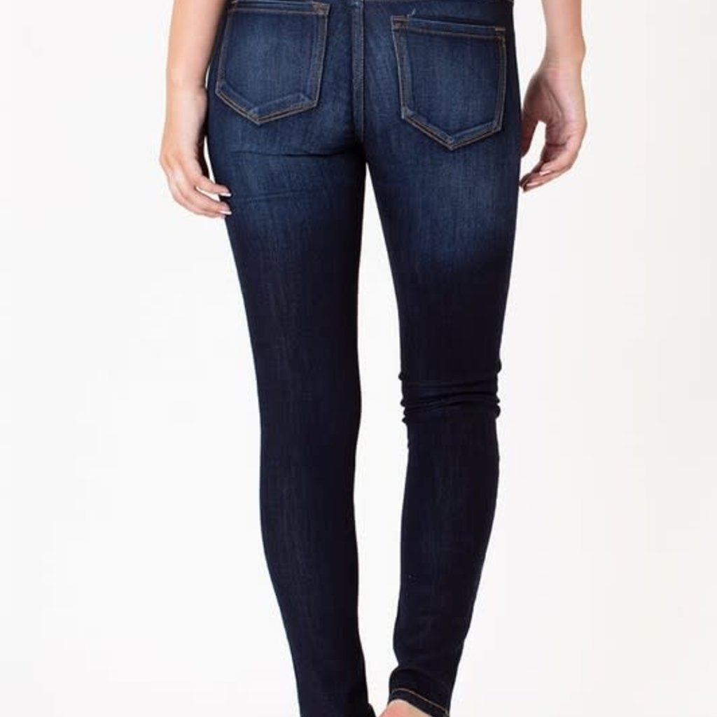 KanCan KanCan Basic Mid Rise Super Skinny (2X and 3X only)