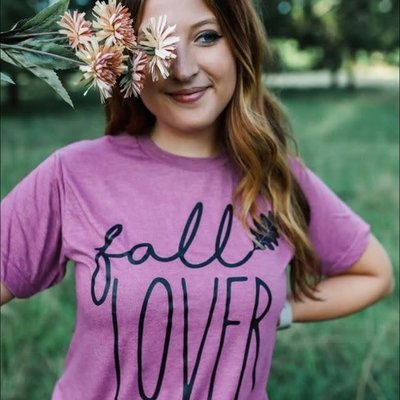 Alabama Threads Purple Fall Lover Tee (S-3XL)