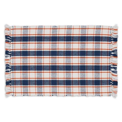 Design Imports Autumn Farmhouse Plaid Placemat