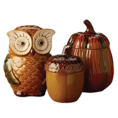Design Imports Autumn Canisters (Sold Seperately)