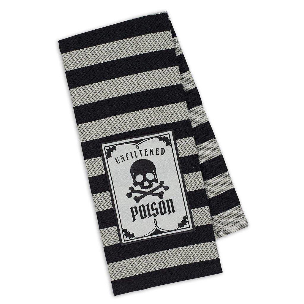Design Imports Poison Embellished Dishtowel