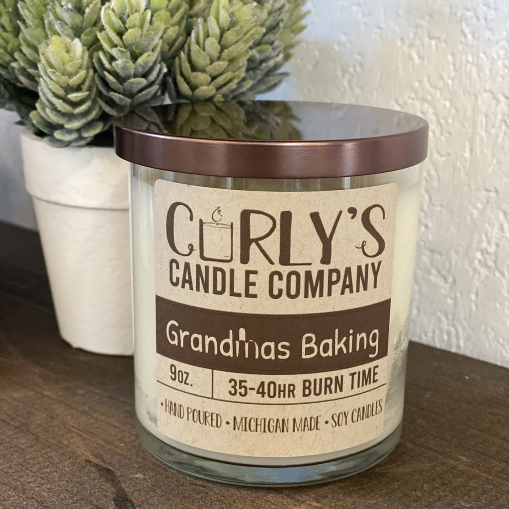 Curly's Candle Company Curly's Candle Co. - Grandma's Baking